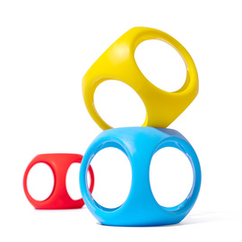 Moluk Oibo Sensory Toy | Primary Colours 3 Pack