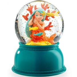 Djeco Night Light - Mermaid Snow Globe