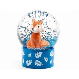 Djeco Mini Snow Globes | So Wild - Fox