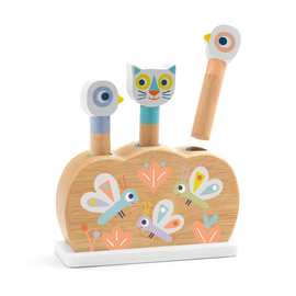 Djeco BabyPopi Wooden Activity Toy