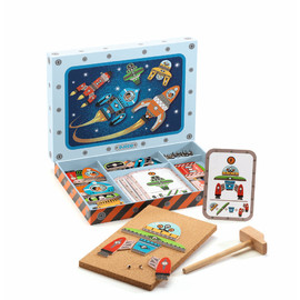 Djeco Tap Tap Space Play Set