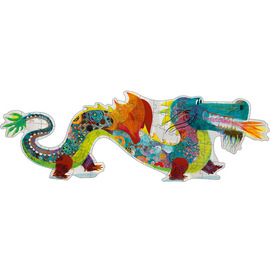 Djeco Leon The Dragon 58pc Giant Floor Jigsaw Puzzle