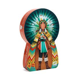 Djeco Tatanka Young Indian 36pc Jigsaw Puzzle