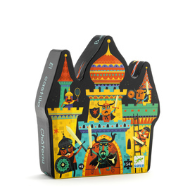 Djeco Fortified Castle 54pc Jigsaw Puzzle