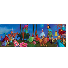 Djeco 350pc Wonderful Walk Jigsaw Puzzle by Nathalie Novi