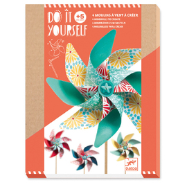 Djeco Do It Yourself Sweet Windmills | Craft Kit
