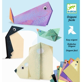 Djeco Origami Polar Animals Paper Craft Kit