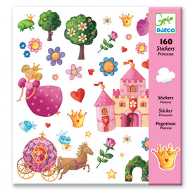 Djeco Princess Marguerite Stickers | 160 piece set