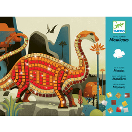 Djeco Mosaics Art By Number Dinosaurs Craft Activity Kit