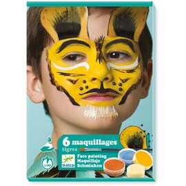 Djeco Tiger Body Art | Face Painting Kit