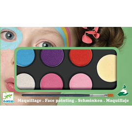 Djeco Sweet Body Art & Face Painting Palette | 6 Colours