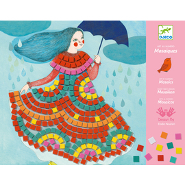 Djeco Party Dresses Mosaic Kit
