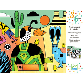 Djeco Colorado Velvet Colouring Art Kit