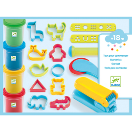 Djeco Introduction to Dough - 25 Piece Play Dough Set