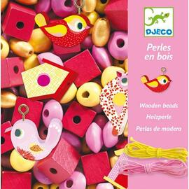 Djeco Birds Wooden Beads 450pc