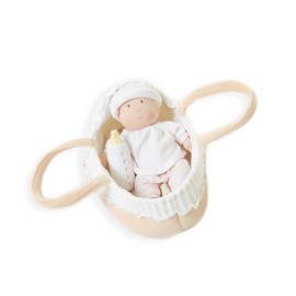 Bonikka Doll - Carry Cot with Baby Grace Doll & Baby Bottle