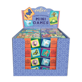 eeBoo Mini Memory & Matching Games - Assorted