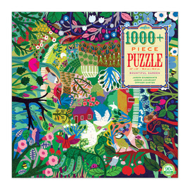 eeBoo Bountiful Garden 1008pc Jigsaw Puzzle