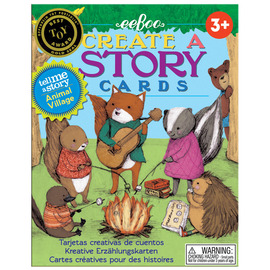 eeBoo Create A Story Card Game - Animal Village