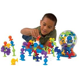 Fat Brain Toy Co. - Squigz Deluxe Set 50pc