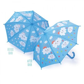 Floss & Rock Colour Changing Umbrella | Raindrops and Clouds