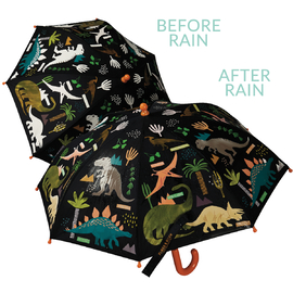 Floss & Rock Colour Changing Umbrella | Dinosaur