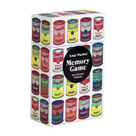 Galison Memory Game - Andy Warhol