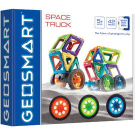 GeoSmart - Space Truck Magnetic Construction Kit