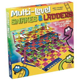 The Happy Puzzle Company | Multi-Level Snakes and Ladders Game