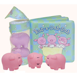 iBaby Float-Alongs | Three Little Piggies Bath Book
