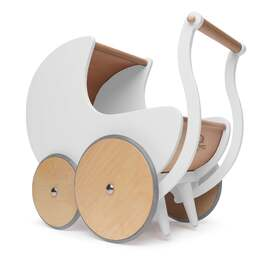 Kinderfeets Walker Pram - White