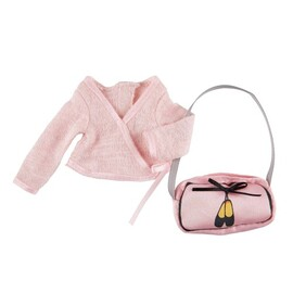 Kruselings Doll Clothes - Ballet Jacket & Bag Outfit
