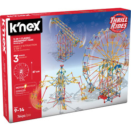 K'NEX Thrill Rides| 3-in-I Classic Amusement Park Construction Set