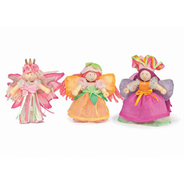 Le Toy Van Budkins - Garden Fairy Doll Set
