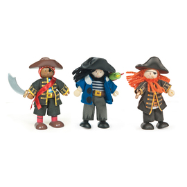 Le Toy Van Budkins - Buccaneers Triple Set