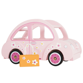 Le Toy Van Daisylane Sophie's Car | Wooden Dolls House Accessory Set