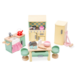 Le Toy Van Daisylane Kitchen | Wooden Dolls House Furniture Pack