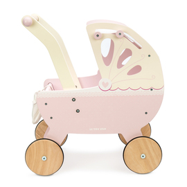 Le Toy Van Sweet Dreams Pram | Wooden Dolls Pram