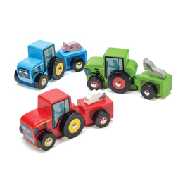 Le Toy Van Pelmel Tractor Trails | Wooden Toy Tractor