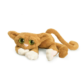 Manhattan Toy Co. Lanky Cat - Goldie | Poseable Cat Plush Toy
