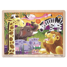 Melissa & Doug - African Plains 24pc Wooden Puzzle