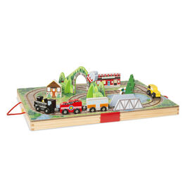 Melissa & Doug - Take-Along Tabletop Railroad