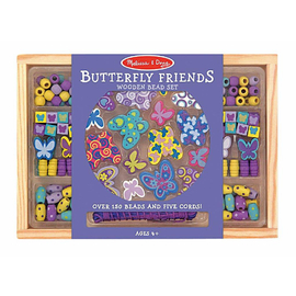 Melissa & Doug- Butterfly Friends Bead Set