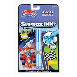 Melissa & Doug - On The Go Surprise Ink! - Vehicles Game Book
