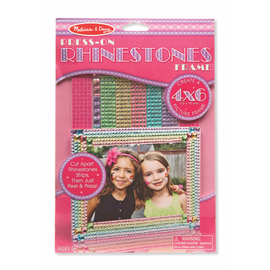 Melissa & Doug - Press-On Jewels Rhinestone Photo Frame