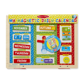 Melissa And Doug My Magnetic Daily Calendar | Educational Tool