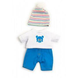 Miniland Doll Clothes - Boys Winter Sweatshirt Set | 21cm Doll