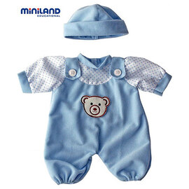 Miniland Doll Clothes - Blue Pyjama's | 21cm Doll