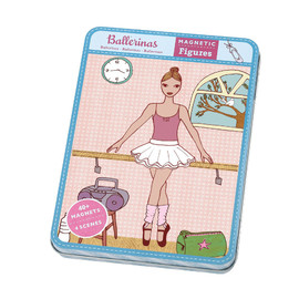 Mudpuppy Magnetic Dress Up | Ballerina