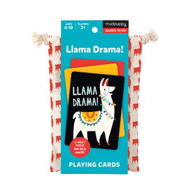 Mudpuppy Games-to-Go | Llama Drama Card Game